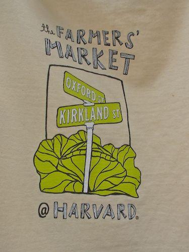 Harvard Market t-shirt