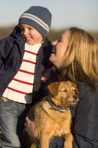 Mom amd dog_shutterstock_910161