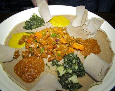 IMG_3119 - Version 22011-04-10-lucy-ethiopean-cafe-ingera- ©2011 Penny Cherubino© 2011 Penny Cherubino