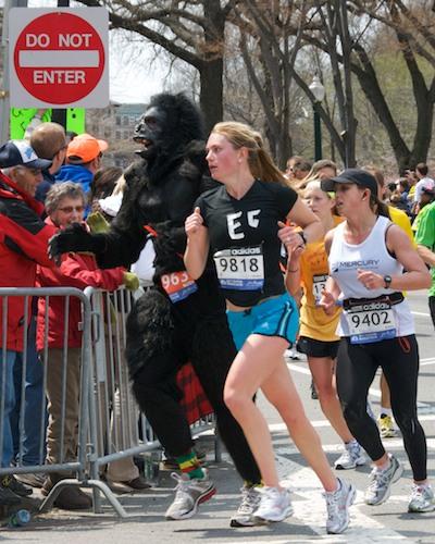 DSC_6275 - Version 52011-04-18-boston-marathon-gorilla-passing-hereford∂-©2011 Penny Cherubino© 2011 Penny Cherubino (1)