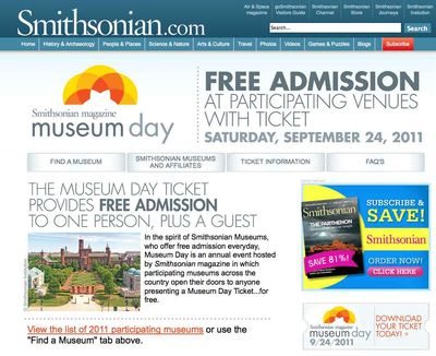 Smithsonian.com museum day