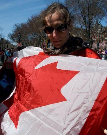 DSC_5640 - Version 22011-04-18-boston-marathon-canadian-flag-©2011 Penny Cherubino© 2011 Penny Cherubino