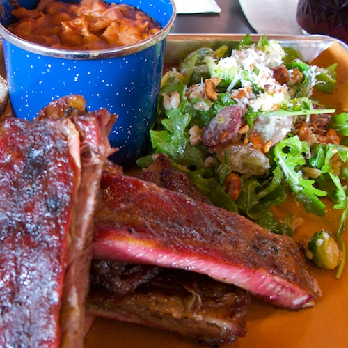 IMG_4250 - Version 22011-12-10-sweet-cheeks-ribs-beans-farm-salad-© 2011 Penny Cherubino