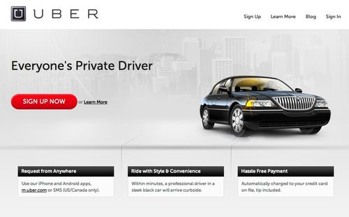 Uber screengrab