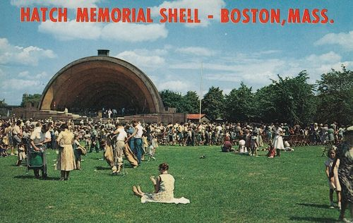Hatch Shell postcard2011-06-22-Boston-pops-Hatch Shell postcard-© 2011 Penny Cherubino