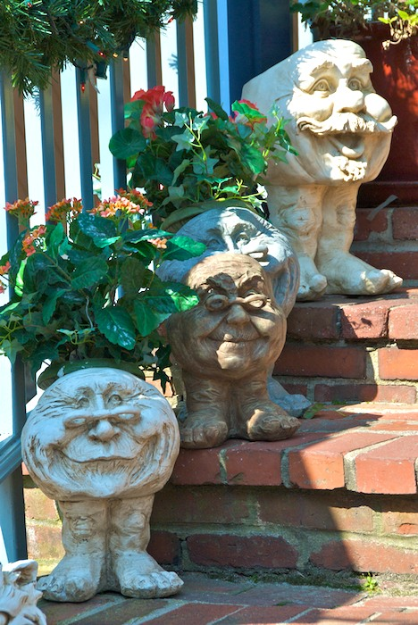 Happy Garden Gargoyles BostonZest