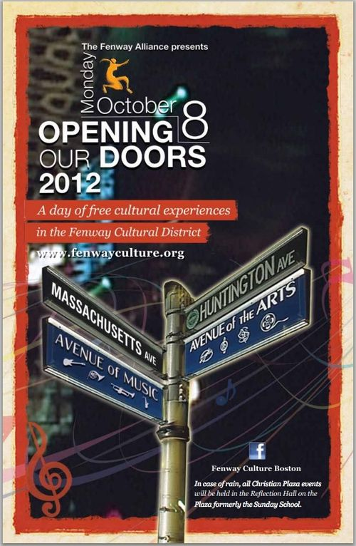 Opening our doors 2012