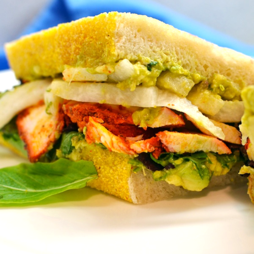 DSC_1705 - Version 22013-01-12-flour-roast-chicken-sandwich-avocado-jicama-© 2011 Penny Cherubino
