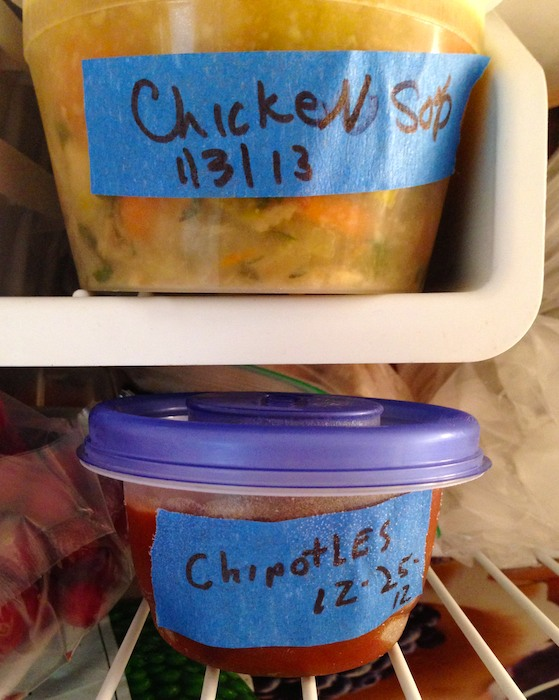 Photo1 - Version 22013-01-08-blue-tape-for -cooks-freezer-© 2011 Penny Cherubino