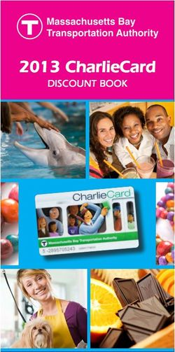 Charlie card discounts