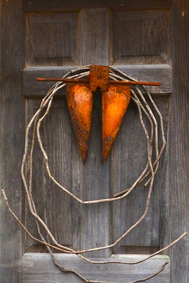 PC2_3378 - Version 22014-04-29provincetown, door, wreath, anchor,© 2011 Penny Cherubino
