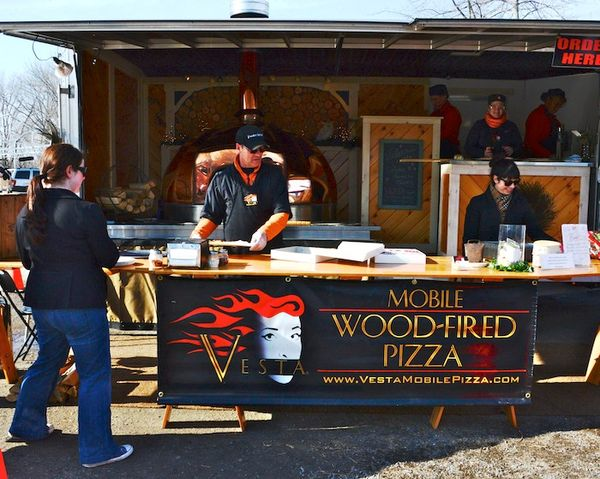 Vesta Mobile Wood Fired Pizza At The Wayland Winter