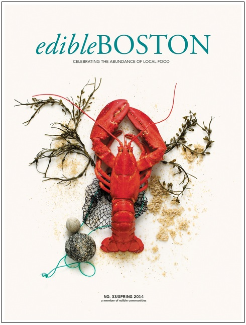 Edible Boston Spring 2014 issue