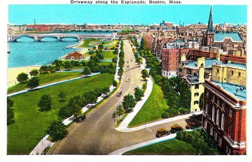Parkway postcard