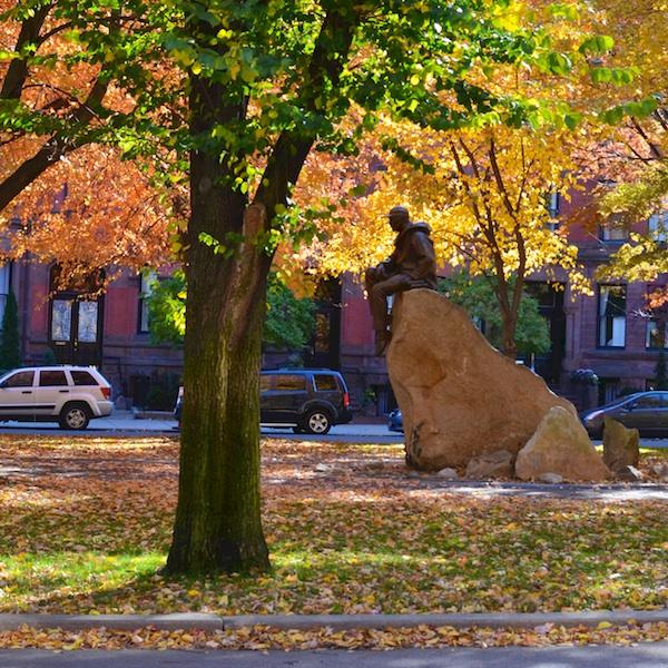 DSC_9816 - Version 22013-11-05-morison-statue-fall-foliage-boston-commonwelath-avenue-mall-© 2014 Penny Cherubino