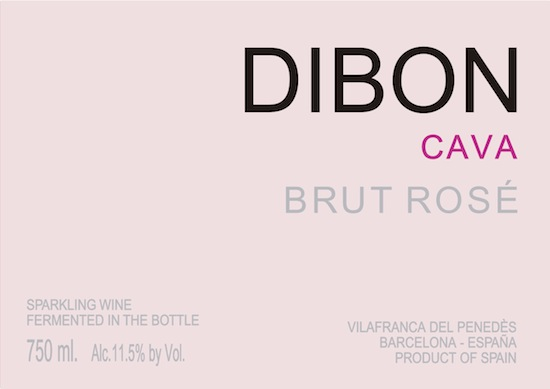 DIBON BRUT ROSE NEW LABEL JULY 12 2016