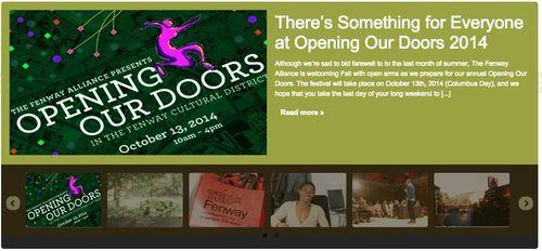 Open doors fenway 2014