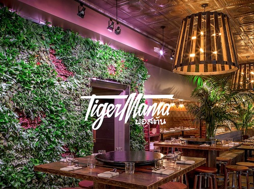 Tiger Mama table for 6