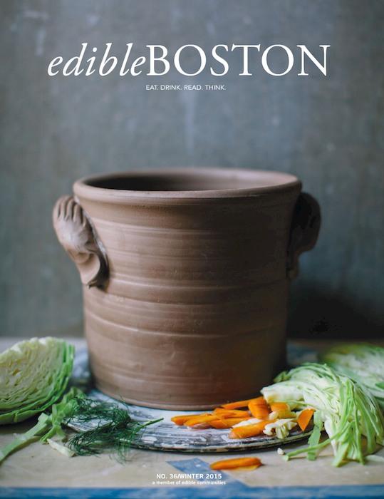 Edible boston winter 2014 cover