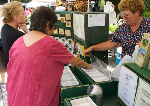 Smith's Country Cheese at the Brookline Farmers Market